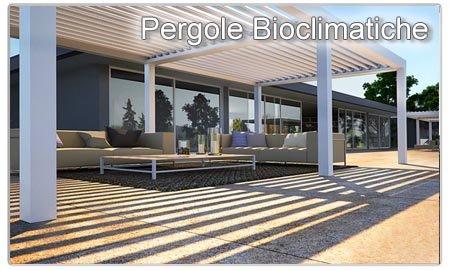 Pergole bioclimatiche